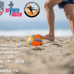 United Soccer Coaches & USYSA Introduce Beach Soccer for First Time at Philly Convention!